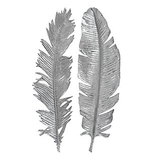 Uttermost Sparrow Silver Wall Decor Set of 2, , large