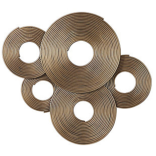 Uttermost Ahmet Gold Rings Wall Decor, , large