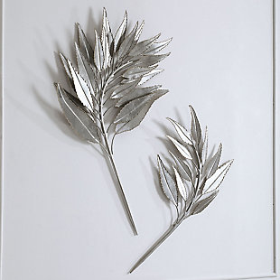 Uttermost Palm Branches Metal Wall Decor, Set of 2, , rollover