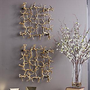 Uttermost Golden Gymnasts Wall Art, , rollover