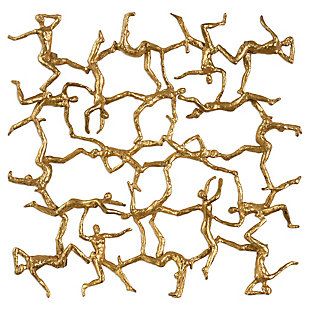 Uttermost Golden Gymnasts Wall Art, , large