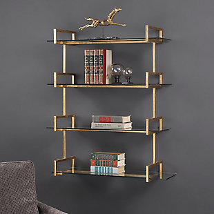 Uttermost Auley Gold Wall Shelf, , rollover