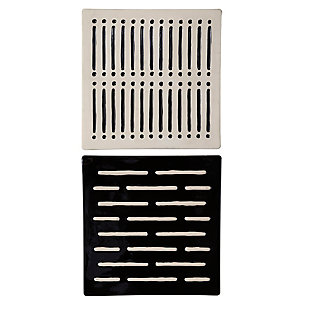 Uttermost Domino Effect Modern Wall Decor, Set of 2, , large