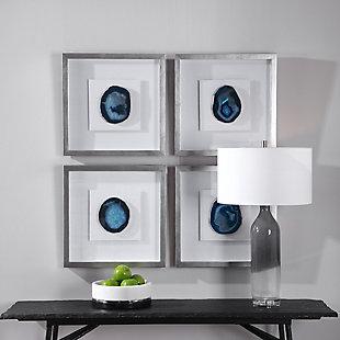 Uttermost Kalia Blue Stone Shadow Box, , rollover
