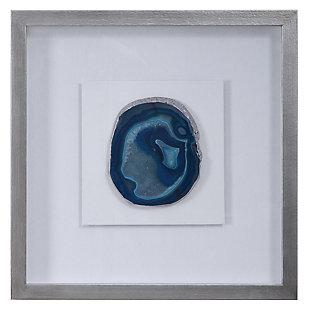 Uttermost Kalia Blue Stone Shadow Box, , large