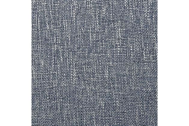 "Beckett 96"" Rod Pocket Panel, Blue, large"