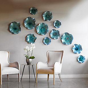 Uttermost Abella Ceramic Flowers, Set of 3, , rollover
