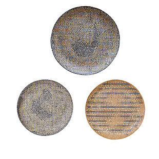 Uttermost Gaia Stone Plate Wall Decor Set of 3, , large