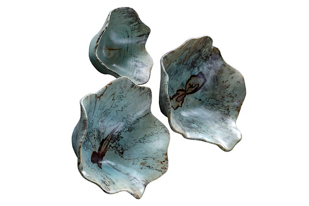 Uttermost Teo Wood Wall Art, Set of 3, , large