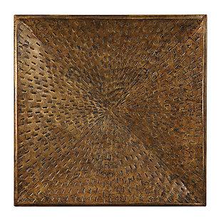 Uttermost Blaise Antiqued Bronze Wall Art, , large