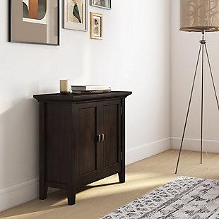 "Simpli Home Redmond 32"" Low Storage Cabinet, , rollover"