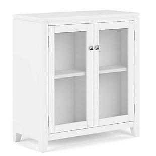 "Simpli Home Cosmopolitan 30"" Low Storage Cabinet, , large"