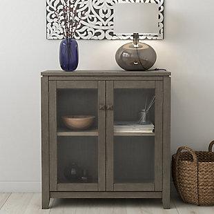"""Simpli Home Cosmopolitan 30"""" Low Storage Cabinet, , rollover"""