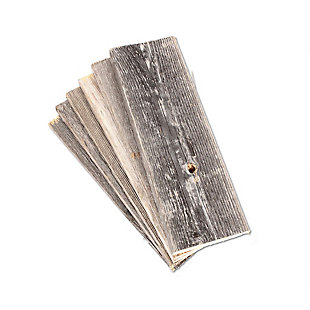 "Farmhouse Farmhouse 12"" Barnwood Plank Panels, Pack of 6, , large"