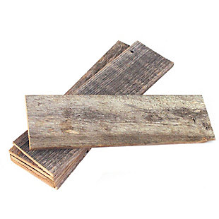 "Farmhouse Farmhouse 12"" Thin Barnwood Plank Panels, Pack of 6, , large"