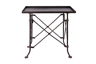 Creative Co-Op Metal Rectangle Accent Table, , large