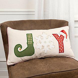 Joy Holiday Throw Pillow, , rollover