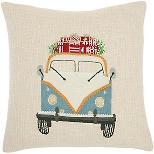 Mina Victory Holiday Van Pillow, , large
