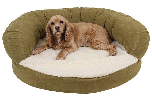 Ortho Small Sleeper Bolster Pet Bed, , large