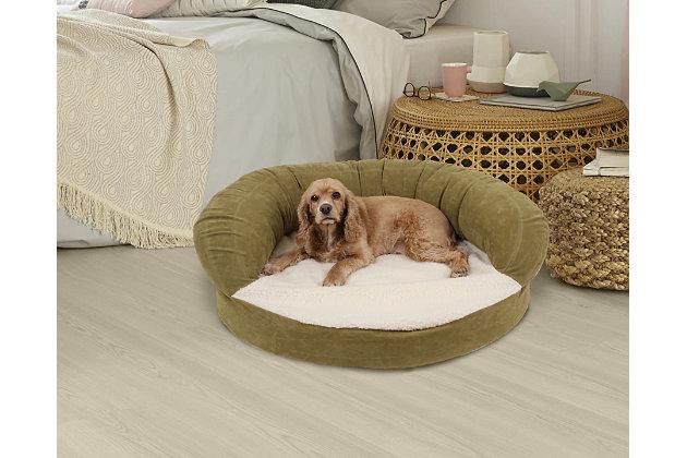 Ortho Medium Sleeper Bolster Bed, , large