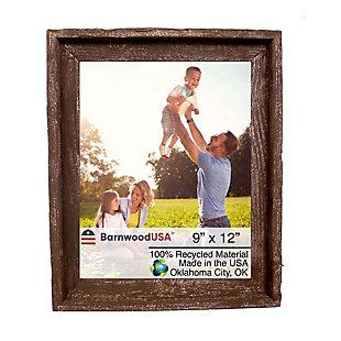 BarnwoodUSA Farmhouse Signature 9x12 Espresso Picture Frame, Espresso, large