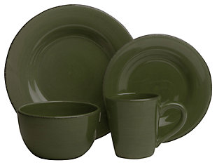 TAG Moss 16-Piece Sonoma Dinnerware Set