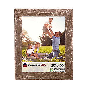 "BarnwoodUSA Farmhouse 20x30 Espresso Picture Frame (1.5"" Molding), Espresso, large"