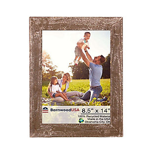 "BarnwoodUSA Farmhouse 8.5x14 Espresso Picture Frame (1.5"" Molding), , large"