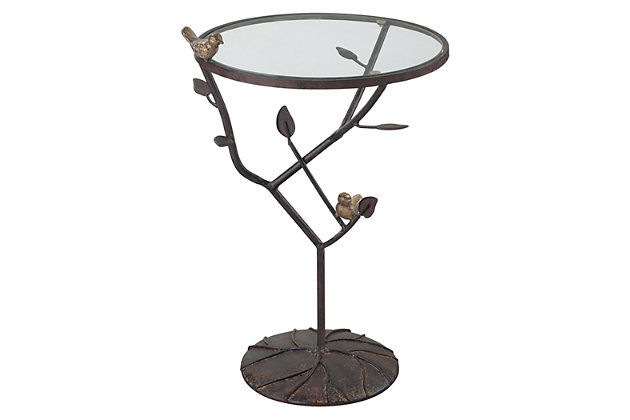 Birds On A Branch Birds On A Branch Accent Table, , large