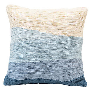 Creative Co-Op Wave Cotton Pillow, , large