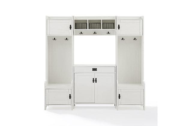 Crosley Harper 4-Piece Entryway Set, , large