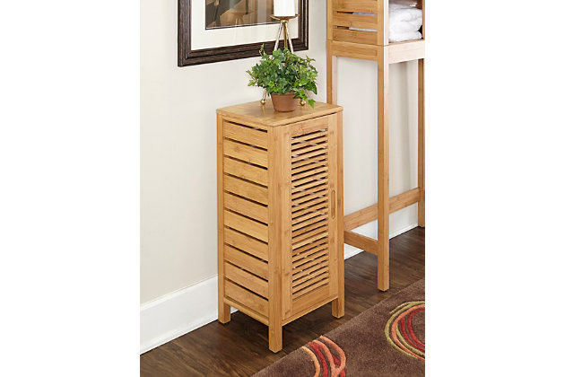 Bracken One Door Floor Cabinet, , large