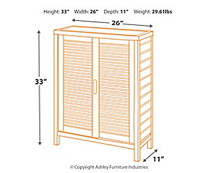 Swell Bracken Two Door Floor Cabinet Ashley Furniture Homestore Home Interior And Landscaping Ologienasavecom