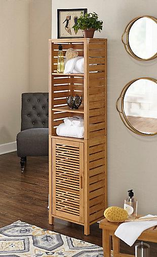 Linon Bracken Tall Cabinet, , rollover