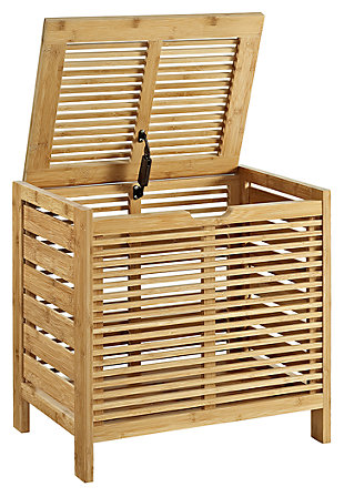 Clint Bamboo Hamper, , large