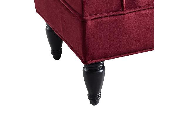 Lola Bench, Red, large