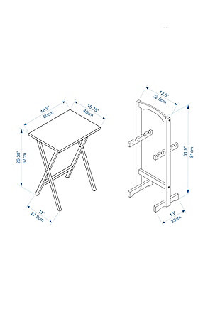 Tray Table (Set of 4), , large