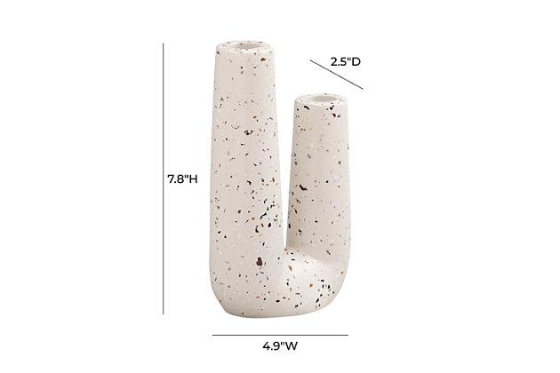Terrazzo Novelty Tube Vase, , large