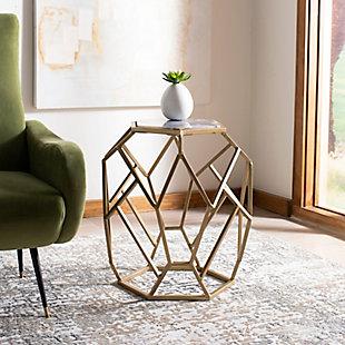 Safavieh Ava Geometric Accent Table, , rollover