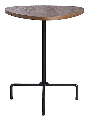 Safavieh Berlin Tripod Side Table, Brown, large