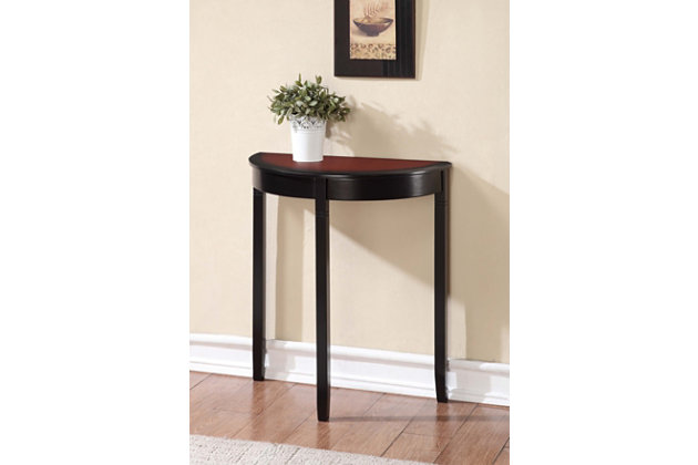 Camden Demi Lune Console Table, , large