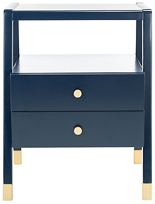 Safavieh Cove 2 Draw 1 Shelf Accent Table, , large