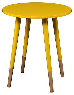 Laney Round Accent Table, , large