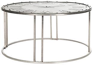 Safavieh Roman Clock Cocktail Table, , large
