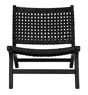 Safavieh Luna Accent Chair, Black, large