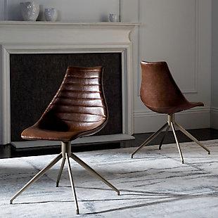 Safavieh Lynette Swivel Chair (Set of 2), , rollover