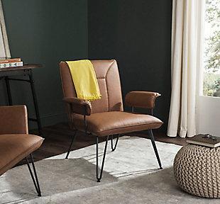Safavieh Johannes Arm Chair, , rollover