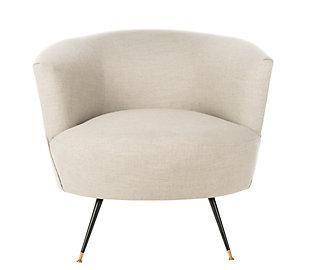 Safavieh Arlette Accent Chair, Light Gray, large