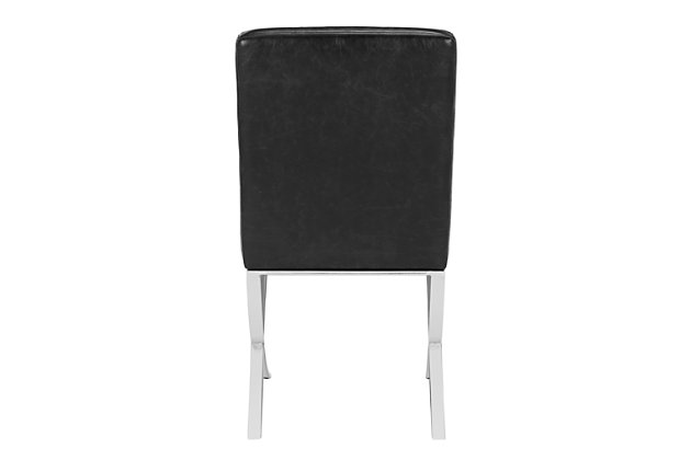 Safavieh Walsh Tufted Side Chair, Black, large