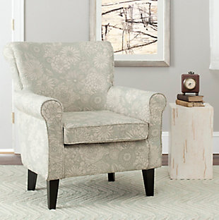 Safavieh Hazina Chair, Abbey Mist, rollover